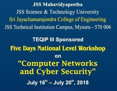 "Workshop on ""Computer Networks and Cyber Security"""