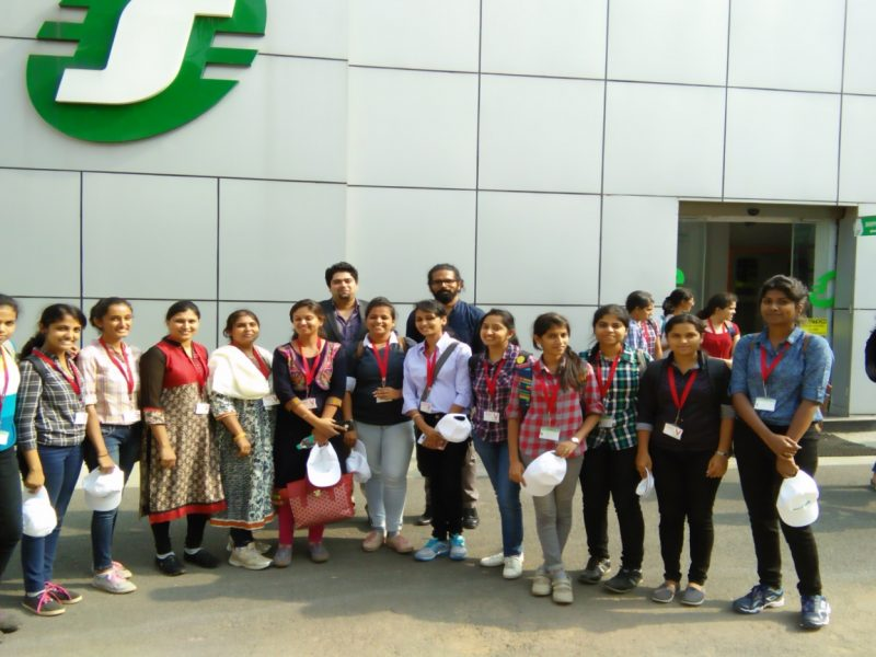 visit to schneider electric 1