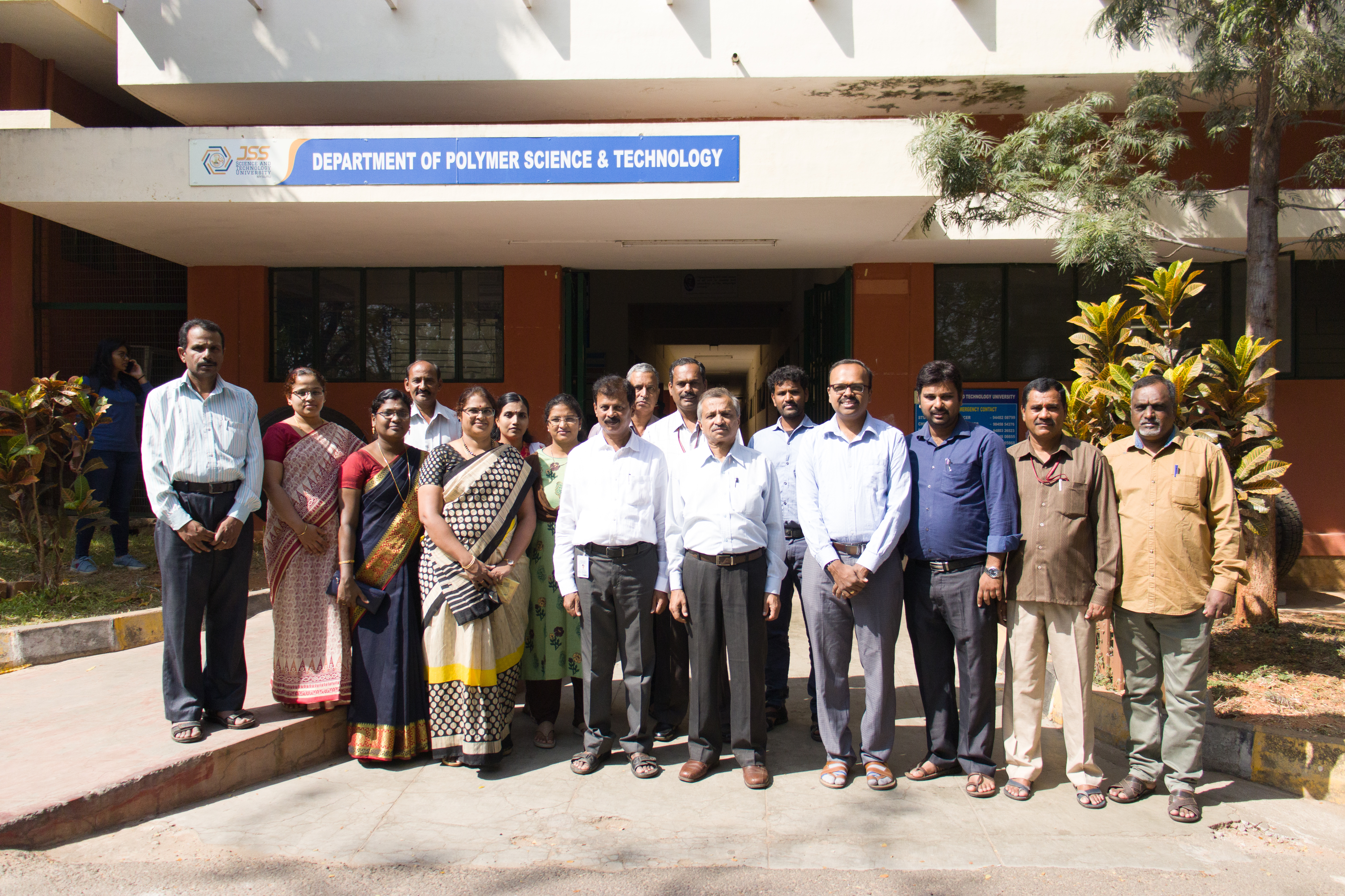 Dept. of Polymer Science and Technology